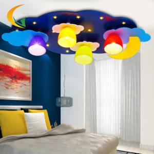 Enfant-lumière-led-plafond-lumière-lumières-de-la-chambre-enfant-réel-bande-dessinée-d-éclairage-lampes